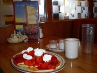 Bob's strawberry pancakes