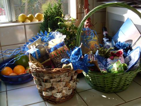 Hanukkah baskets