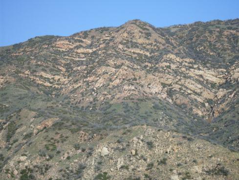Malibu Canyon wall