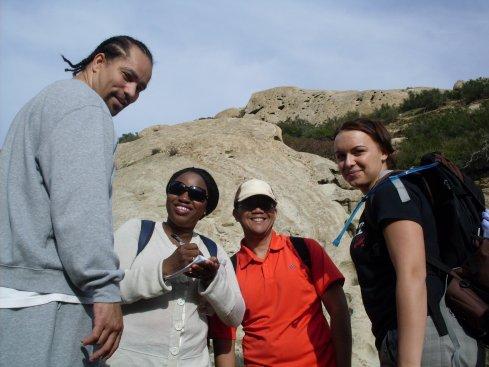 Exploring Red Rock, Geog field trip