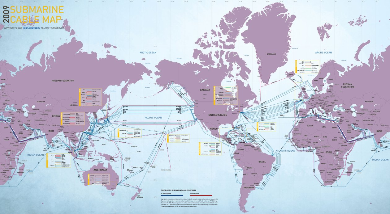 Kingdom Economics The Future Is Now Page 176 Submarine Fiber Optic Cable Magnified Fop 2011 Completion Of Underwater System Has Created Our Global Internet And Monetary