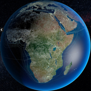 Africa Infrastructure Google Earth