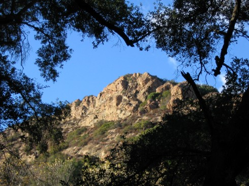 Backdrop seen in many MASH episodes, Santa Monica Mountains