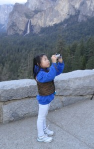Young photographer, Tunnel view