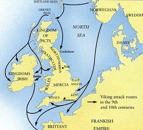 Viking invasions of Britain