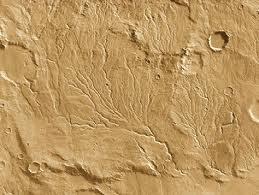 Martian dendritic patterns, NASA