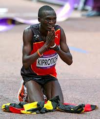 Ugandan Stephen Kiprotich thankful for his gold medal in marathon