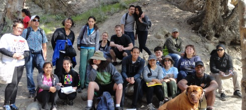 Eaton Canyon Field trip, LAHC Geography 3, 2-18-13