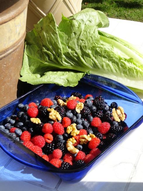 Farmers' market berries, 4-3-13