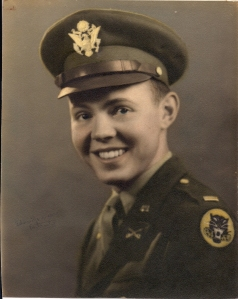 Lt. Col. Charles R. Patton in 1940s