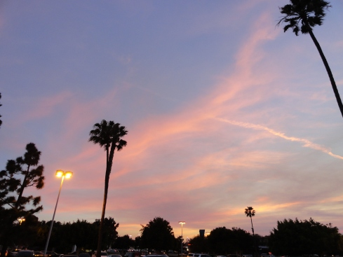 May 3 2013 sunset in Torrance 2