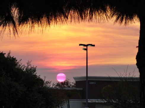 May 3 2013 sunset in Torrance
