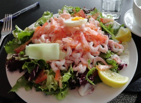 'Prawns sandwich,' Riga Trondheim