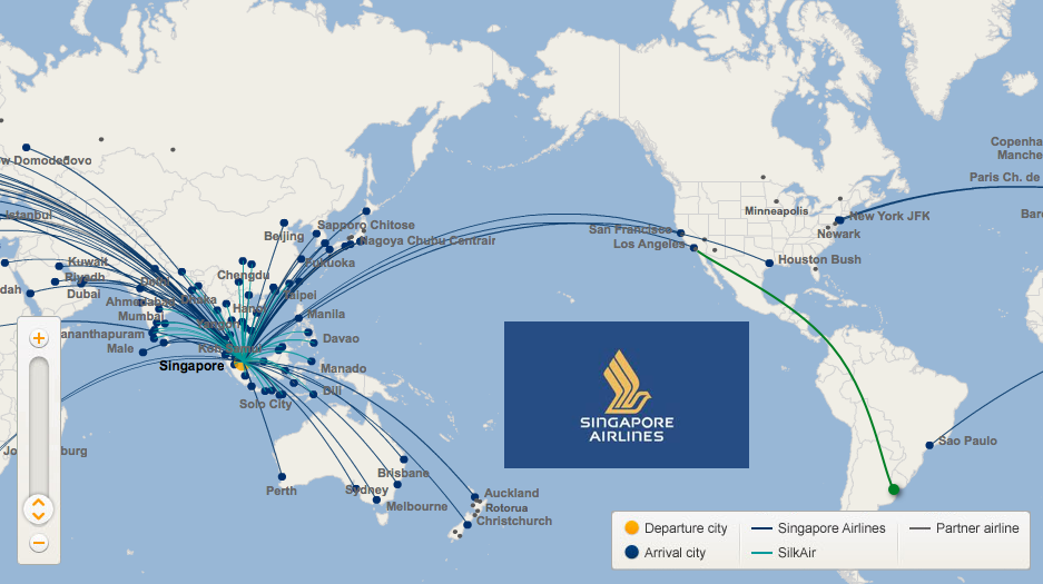 Awesome Singapore Air Route Map 54 Images - Printable Map - New ...