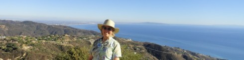 Dr Melanie Renfrew, wide Santa Monica Bay