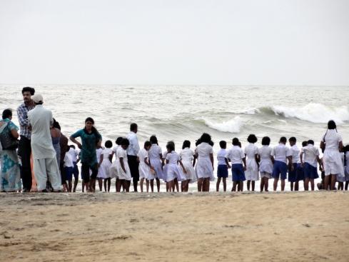 Negambp beach school field trip, July 2013 MP Renfrew