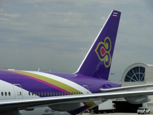 Purple Thai Airlines, LAX June 30, 2013