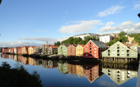 The sun came out one day in Trondheim 4, MP Renfrew