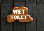 Wet toilet
