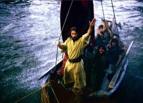 Jesus Calming Storm, Christian Bale