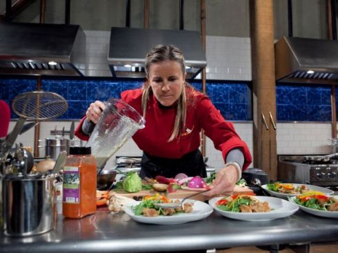 Brandi Chastain on Chopped