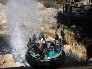 CA Adventure raft ride