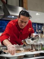 Chef Jun Tanaka Chopped Champion