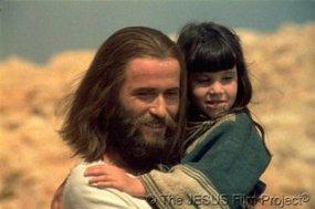 jesus movie holding girl Brian Deacon
