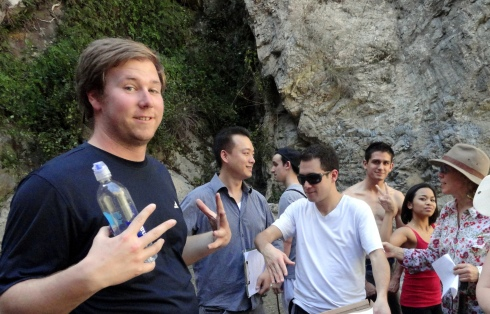LAHC Geography Students Eaton Canyon 3-16-14