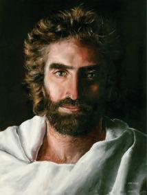 Akiane Lithuanian girl's painting of Jesus