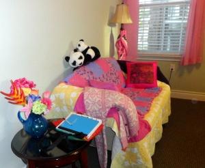 Mom's pink room, G.L. April 2014
