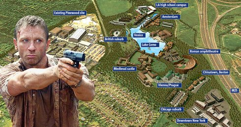 Daniel Craig, Pinewood Studios and proposed extensions