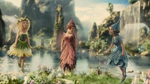 Maleficent fairies, landscape