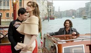 The Tourist, Angelina Jolie, Johnny Depp Venice
