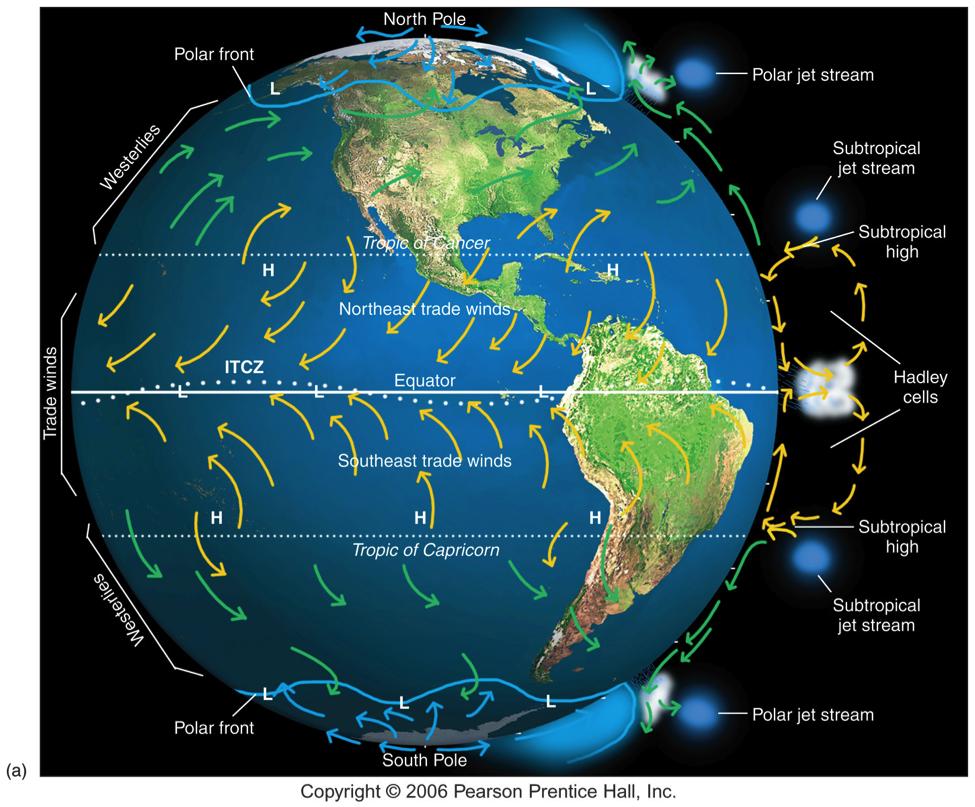 global wind belts. pearson prentice hall global wind belts