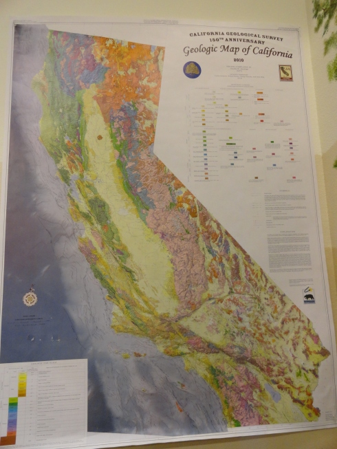 CA Geology map