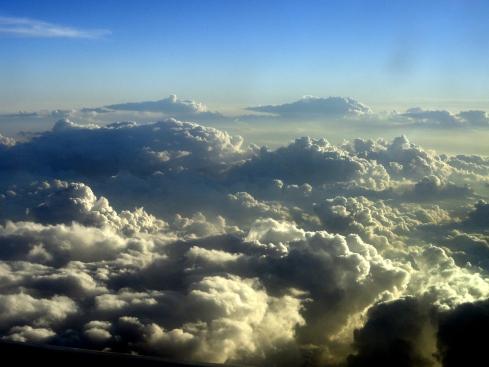 Clouds over Texas-AZ, 8-26-14, MP Renfrew