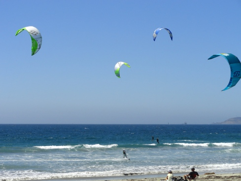Kite-surfing Imperial Beach MPRenfrew, Aug. 2014