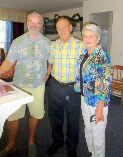 Grant, Dave & Ruth Anderson,memorial for mom 10-25-14