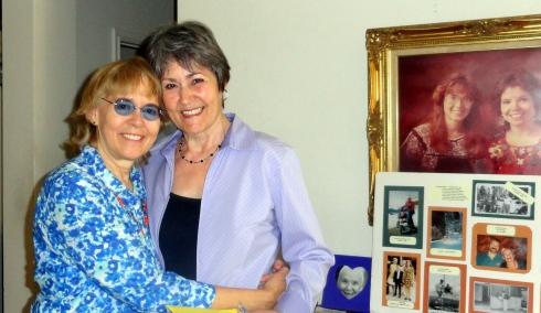 Melanie & Gertie, 10-25-14