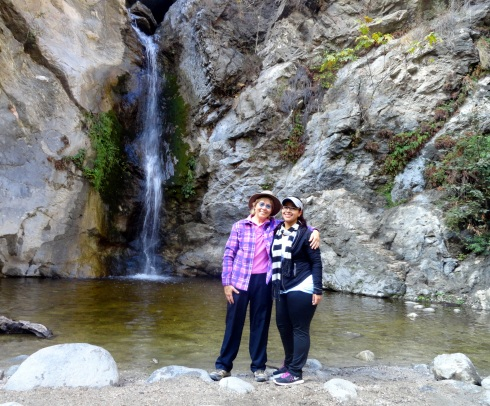 Melanie Renfrew, Diana Carabes, 11-2-14 Eaton waterfall