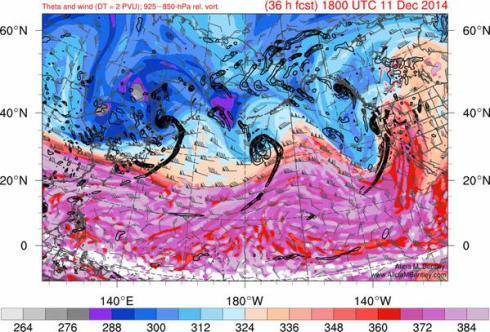 3 cyclones Dec. 11 in Pacific, 2014