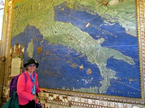 Melanie Renfrew, Vatican Museum Hall of Maps, 1-15