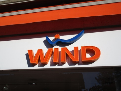 'Wind' store, Siena, Italy