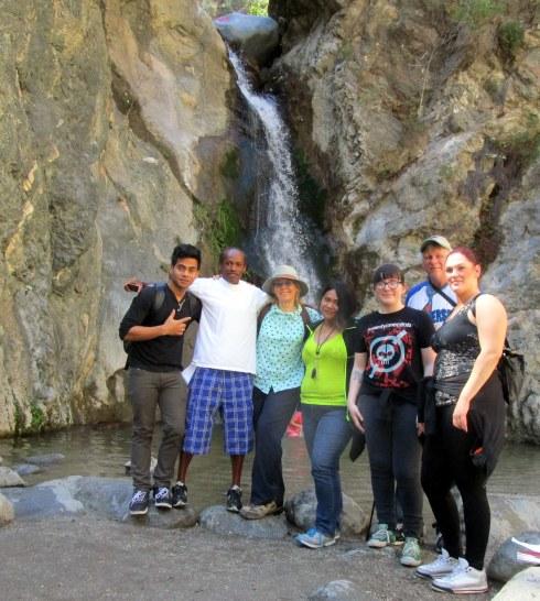 Eaton waterfall  3-20-15 Geography Dr. Renfrew