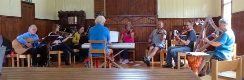 Badenoch Fiddlers at Scottish Folk Museum, 7-14-15