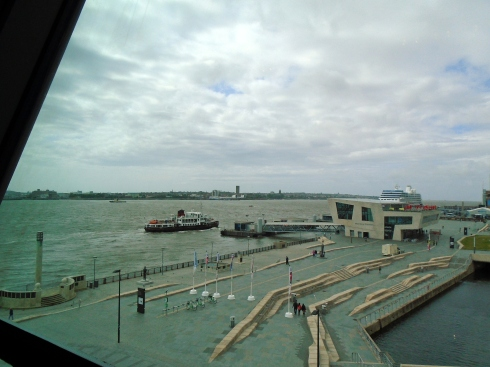 Ferry cross the Mersey, Liverpool, England, July 2015 MP Renfrew