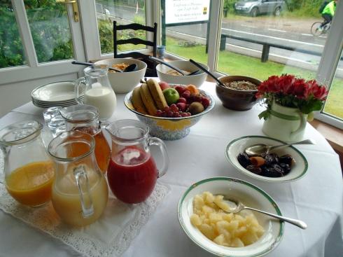 Glenfinnan Prince's House breakfast 1, 7-12-15