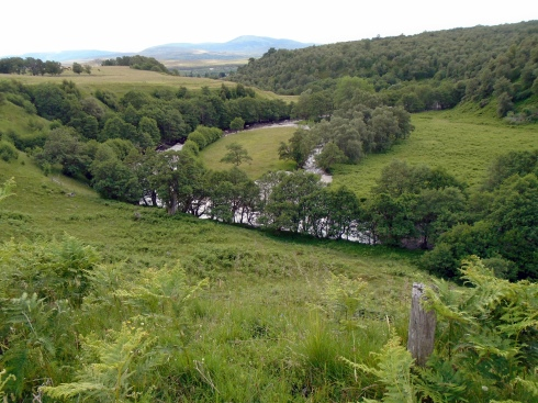 River Calder, Newtonmore, MP Renfrew Glen hike 7-15-15