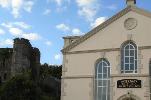 Should we trust it - Watergate Baptist Church, Brecon, Wales